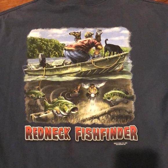 Two redneck fishing shirts XL  Funny  Men t shirt